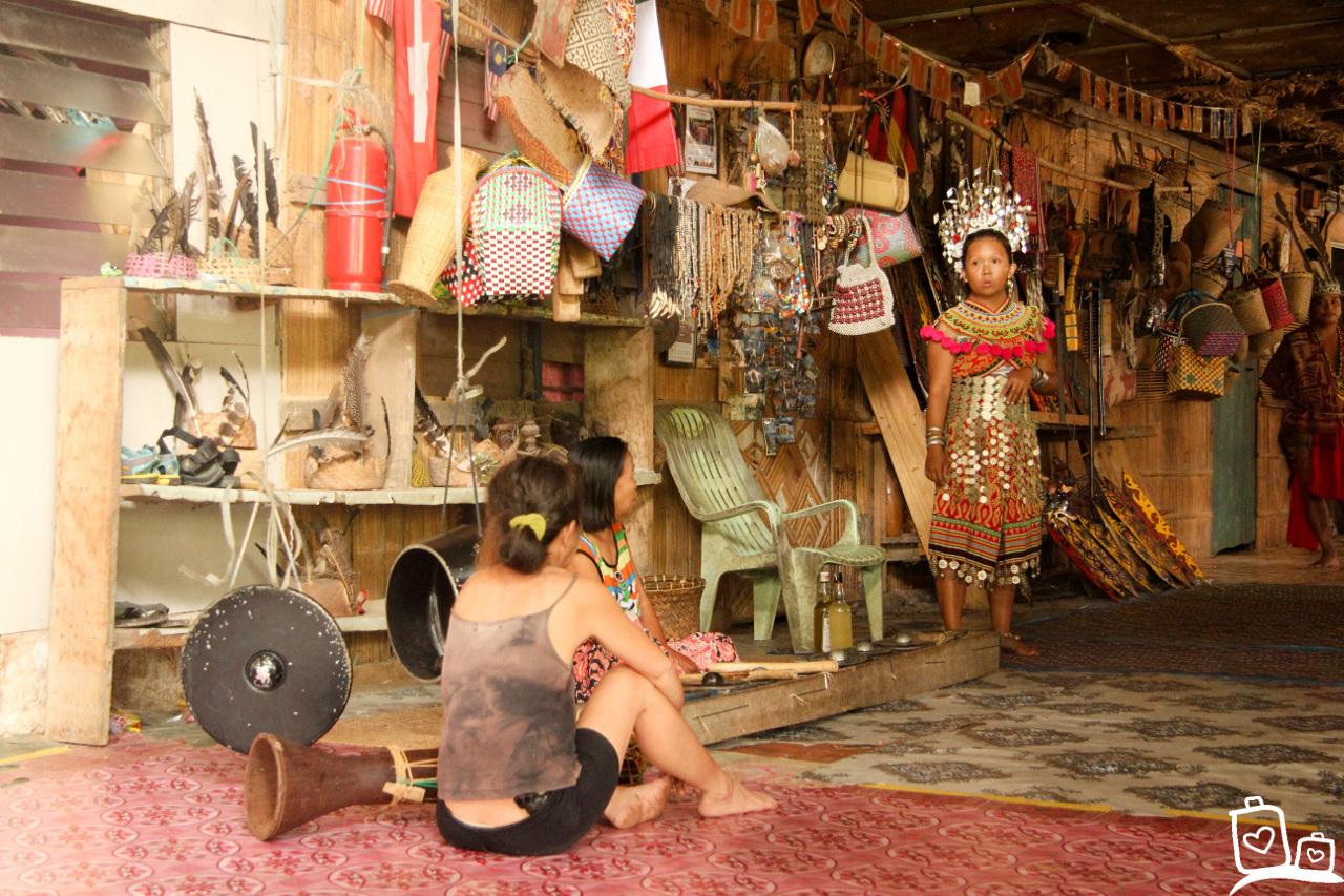 Maleisie Borneo Batang Ai Longhouse Iban