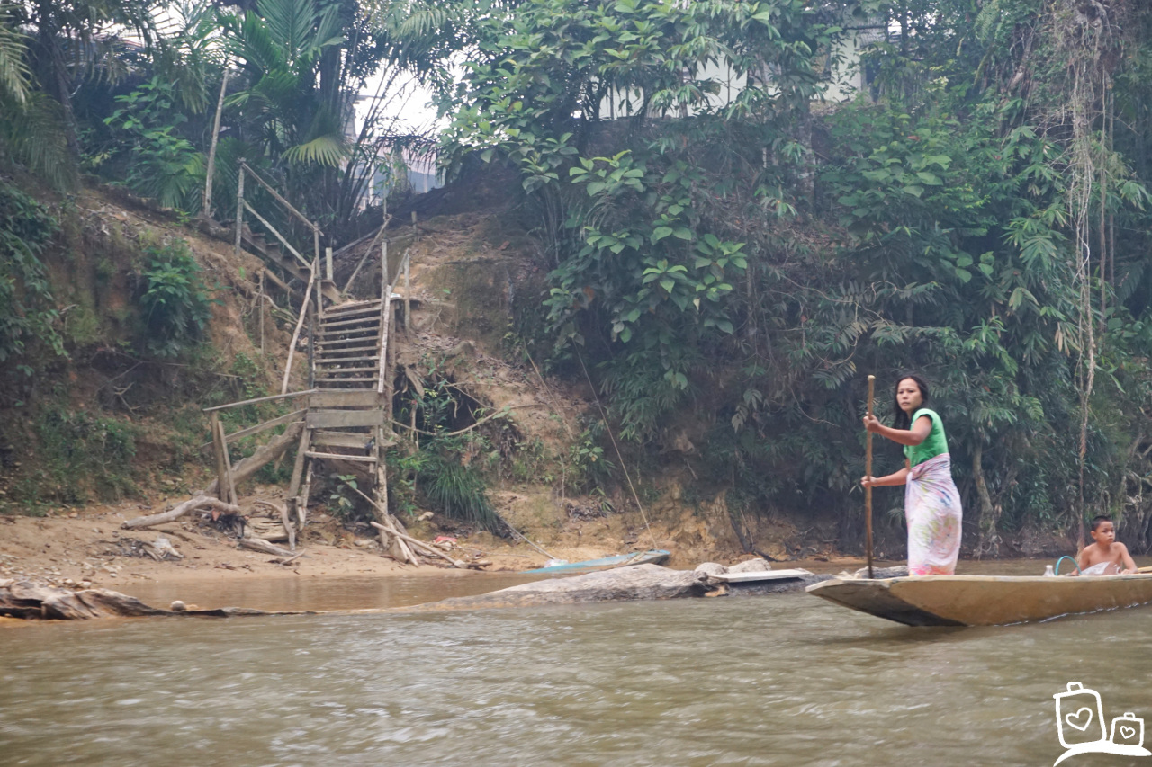 Maleisie Borneo Batang Ai Sarawak Rivier Iban