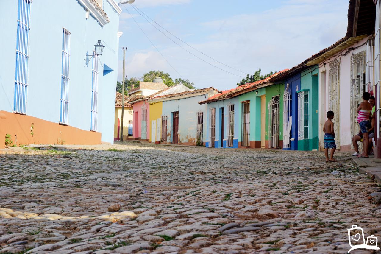 Cuba Trinidad Straatje Unesco