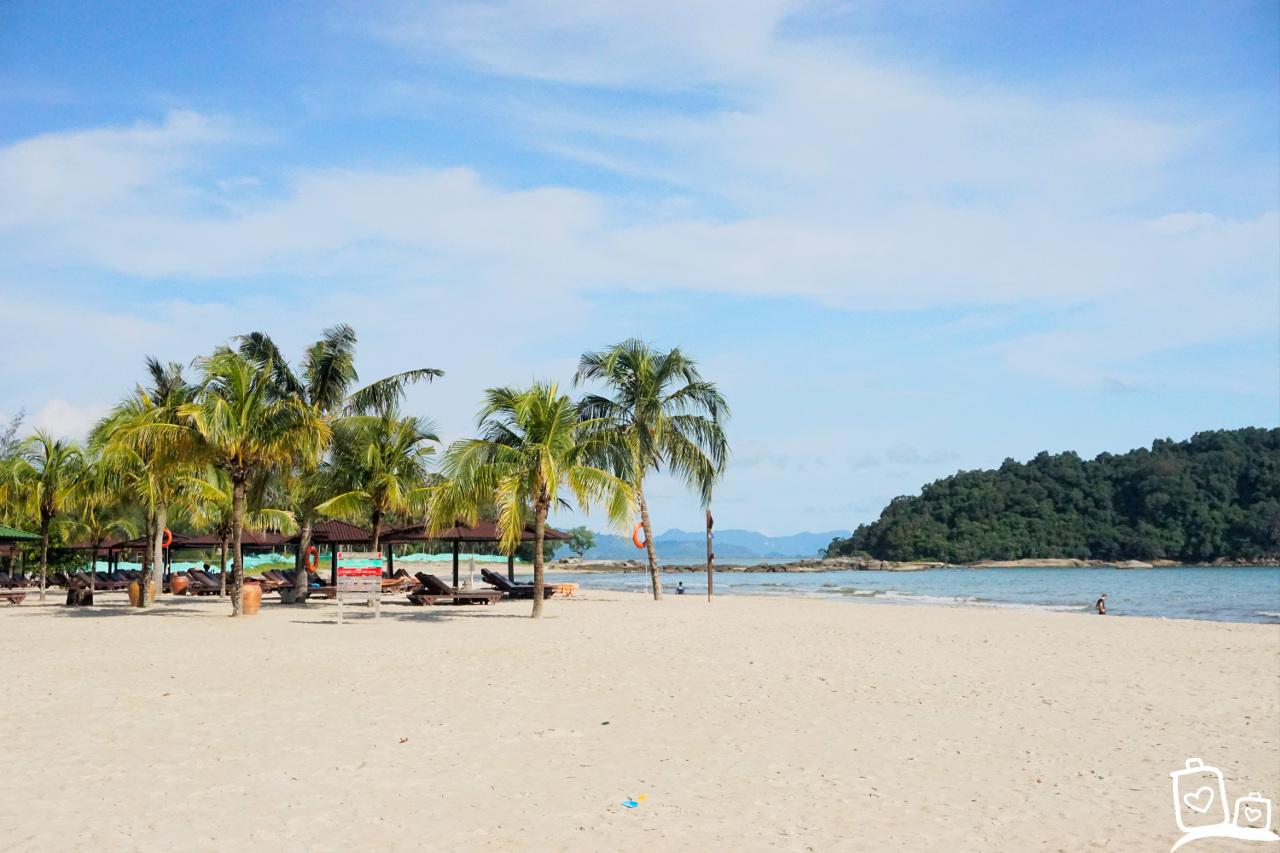 Langkawi Berjaya Resort strand