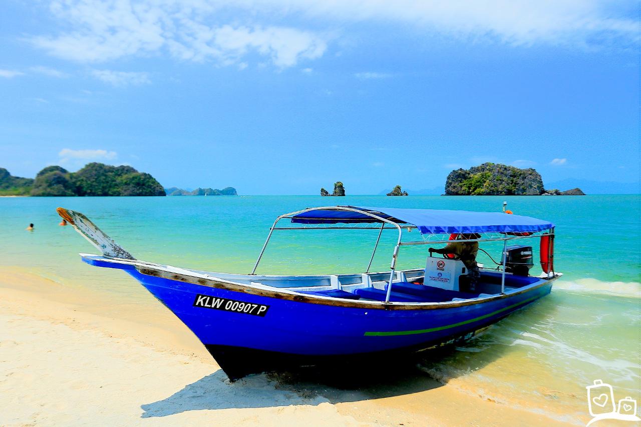 Langkawi Strand Bootje