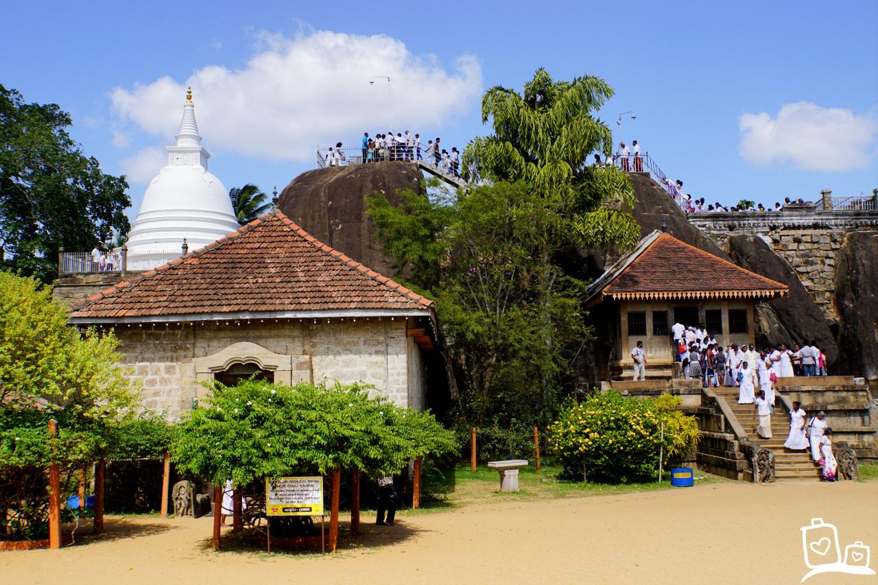 Sri Lanka Anuradhapura Isurumunita Tempel