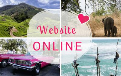 Ontdek je bestemming: Website online… We gaan van start!