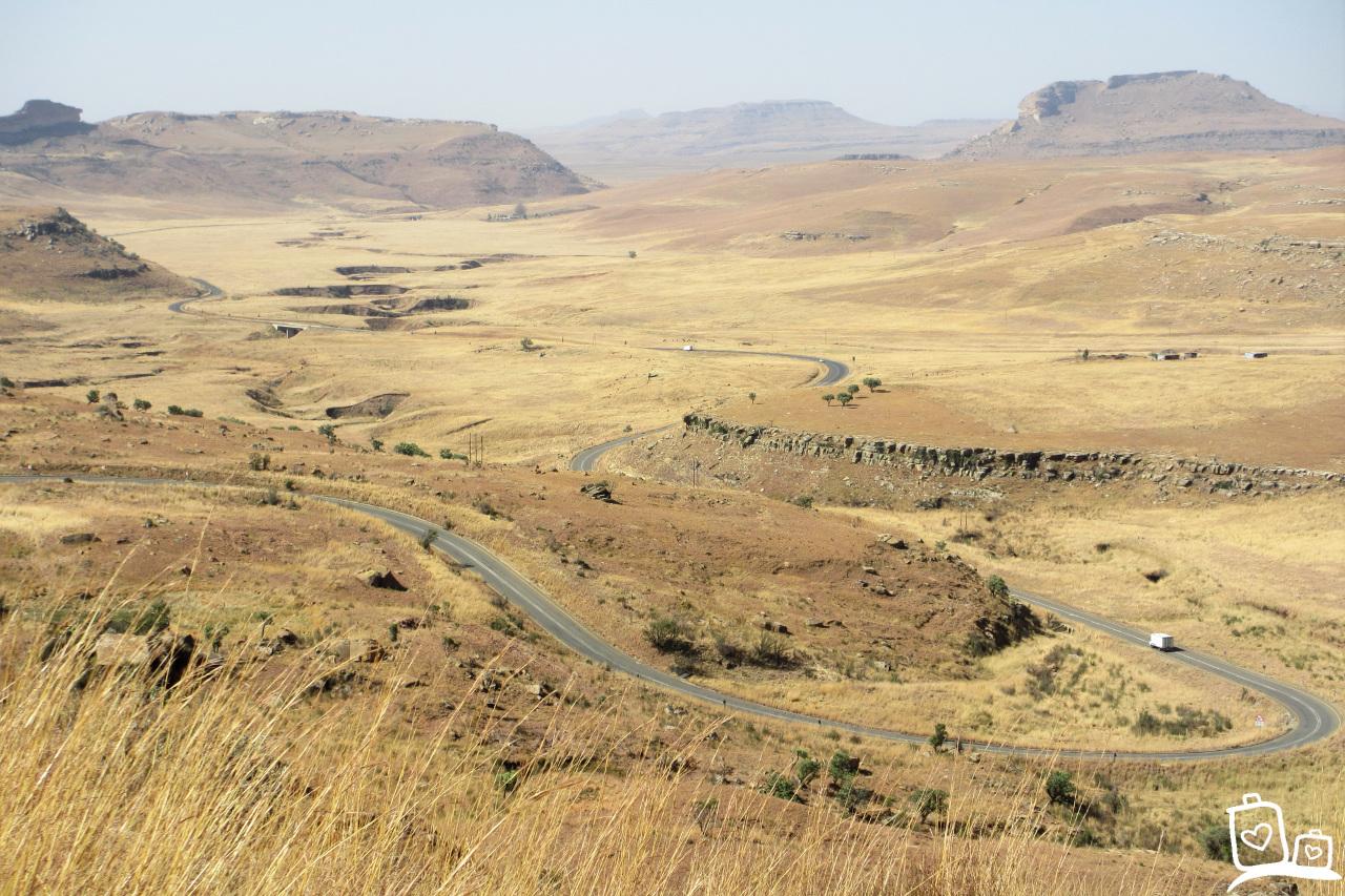Zuid-Afrika Drakensbergen Golden Gate
