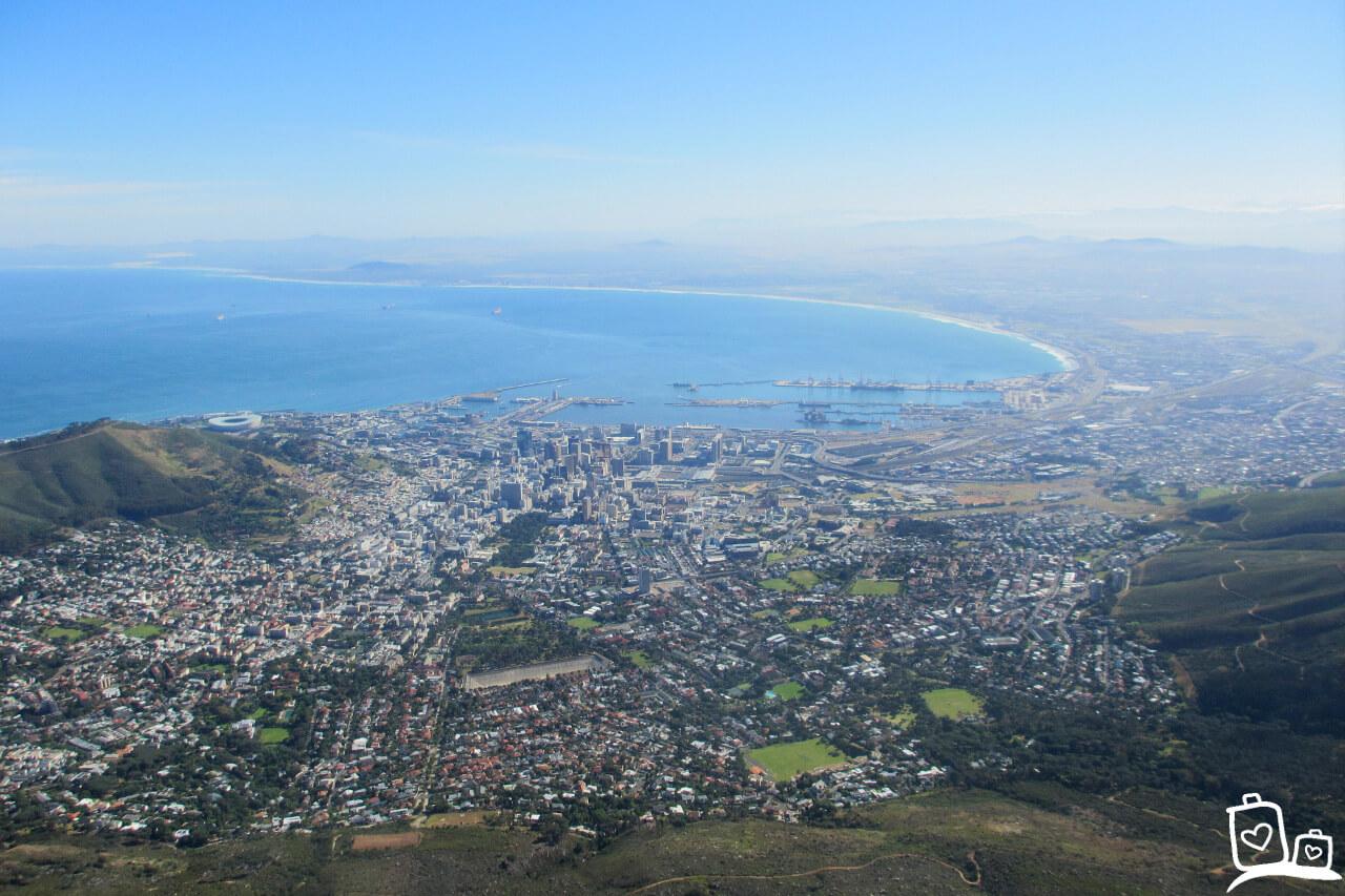 Zuid-Afrika Kaapstad Tafelberg