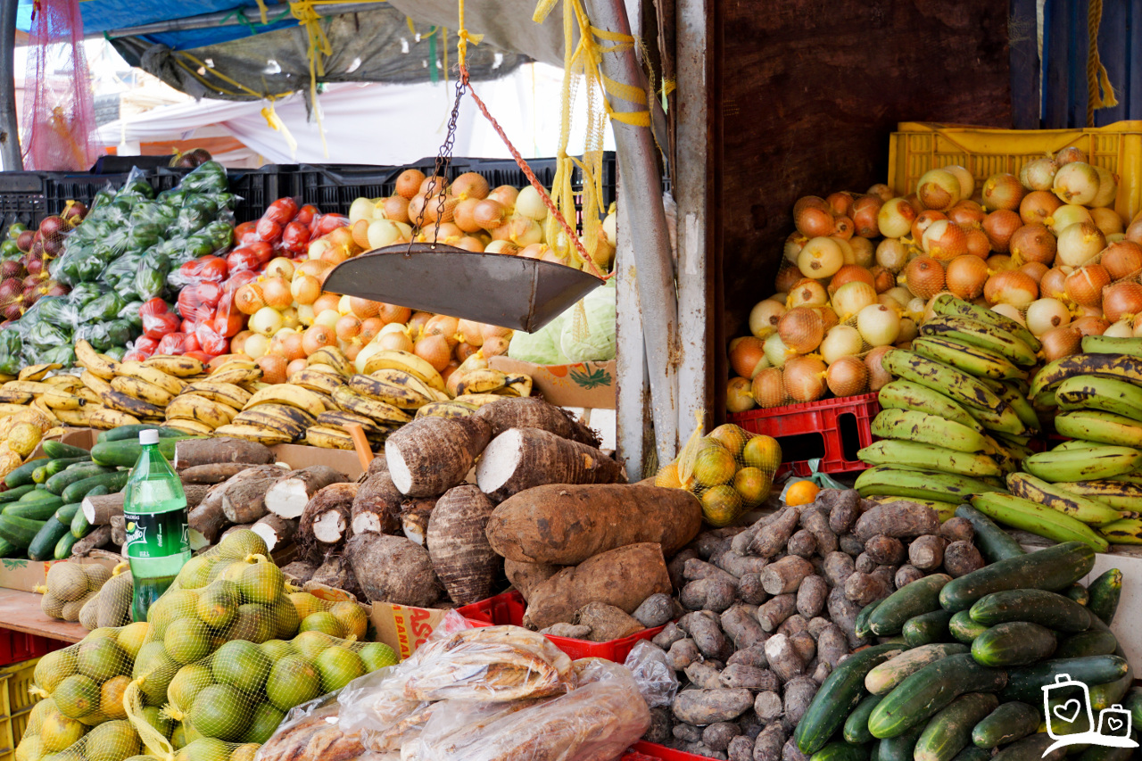 Curacao Willemstad Drijvende markt