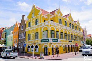 Curacao Willemstad Handelskade