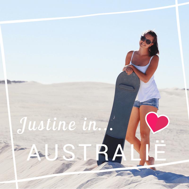 Justine wonen en werken Australie