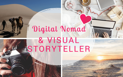 Een inspirerend leven als digital nomad en visual storyteller