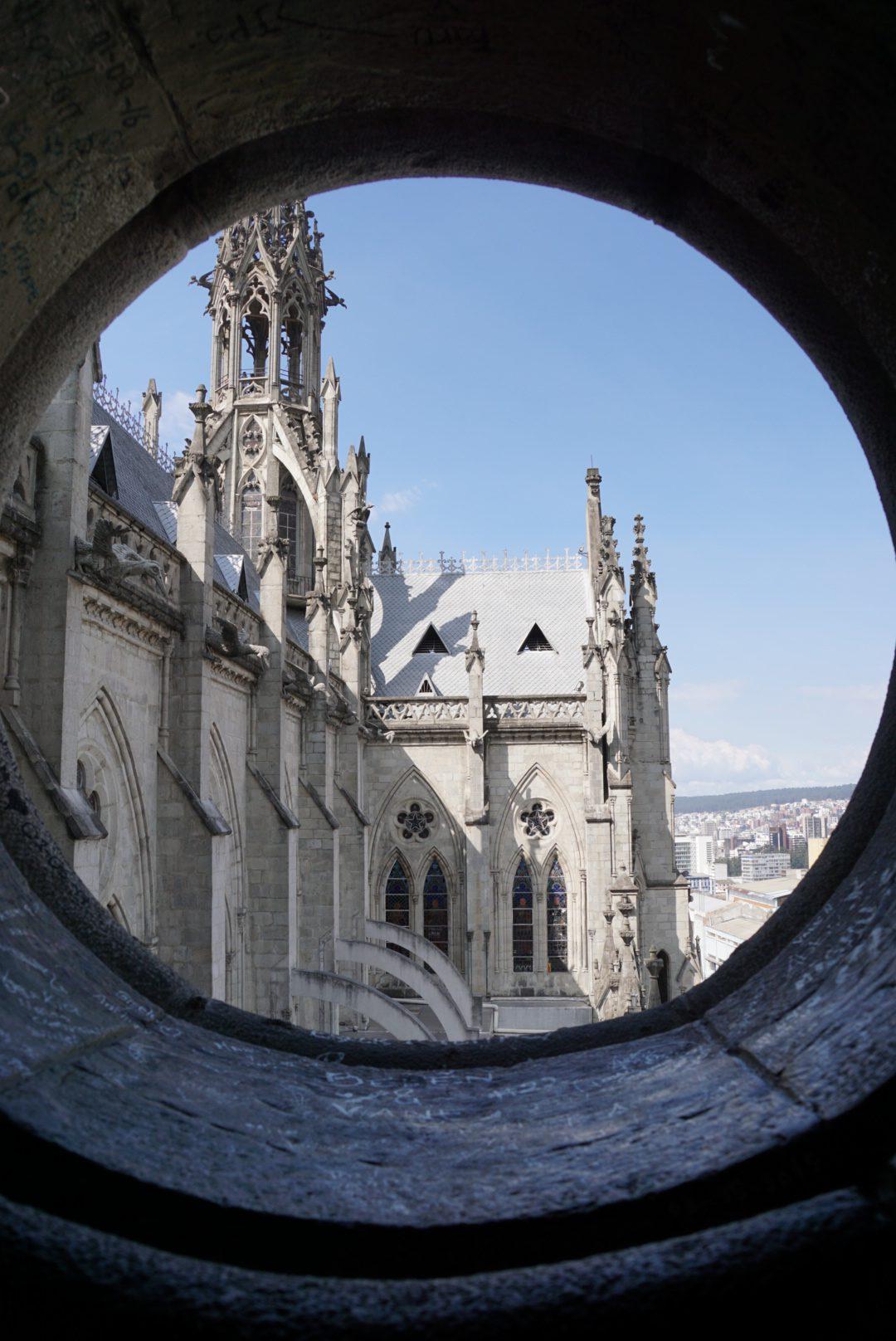 Ecuador Quito Basilica del Voto Nacional