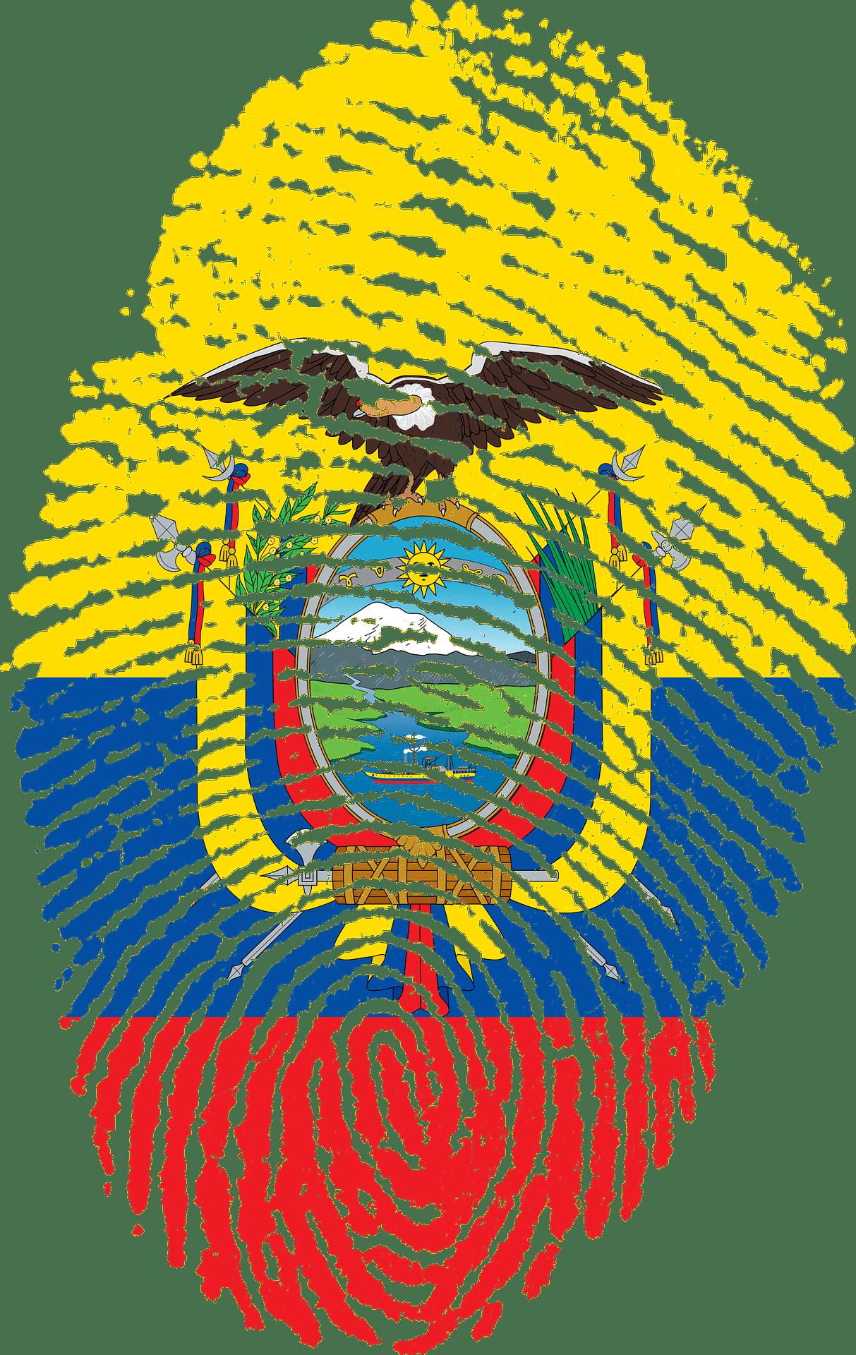 Ecuador Vingerafdruk