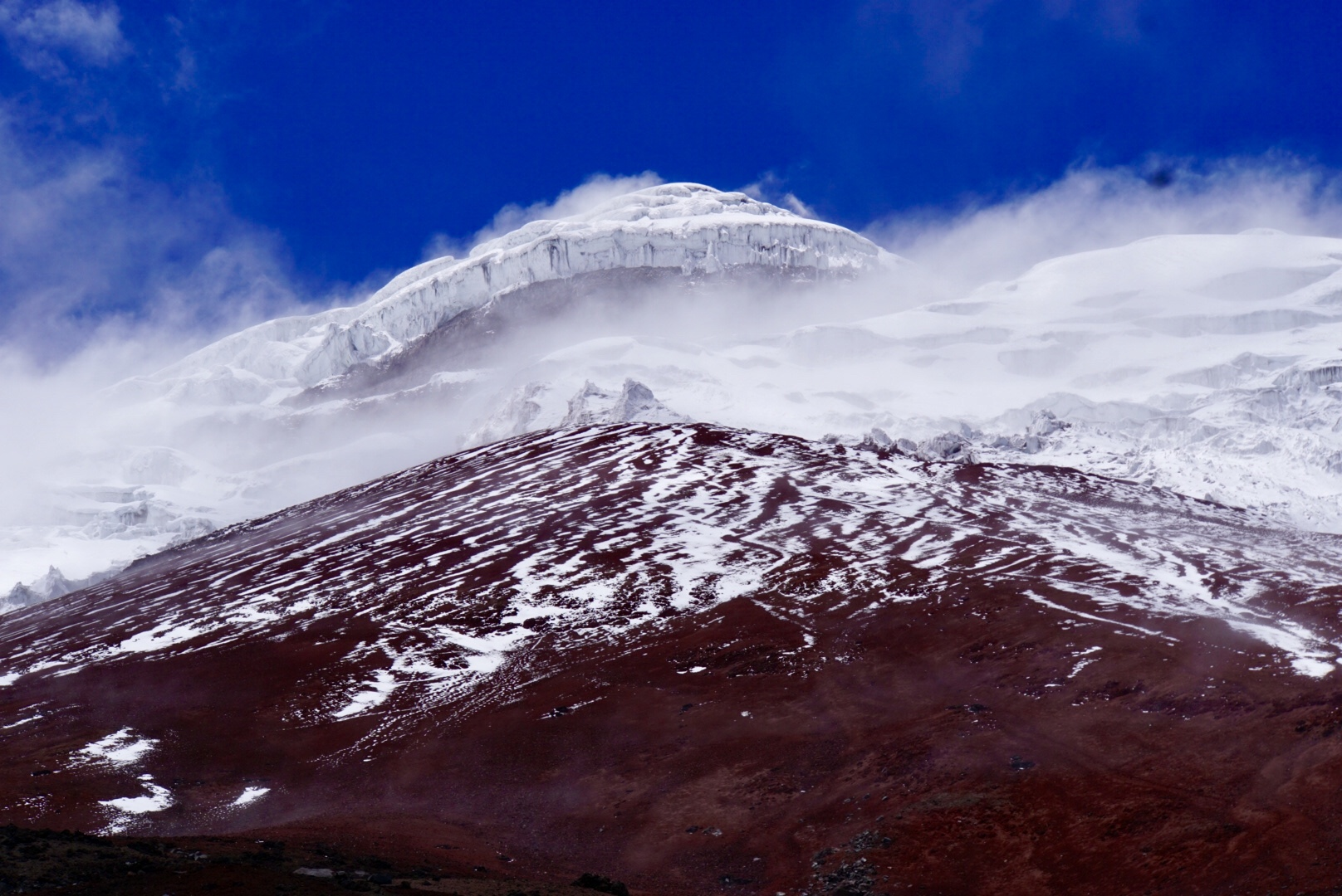 Ecuador Cotopaxi vulkaan