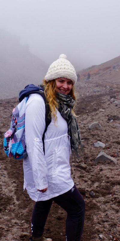 Ecuador Cotopaxi vulkaan Kim