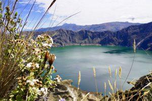 Quilotoa krater meer