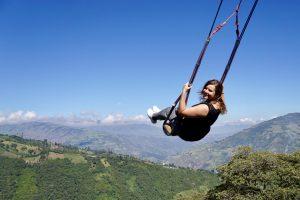Ecuador - Banos - Casa del Arbol - Swing