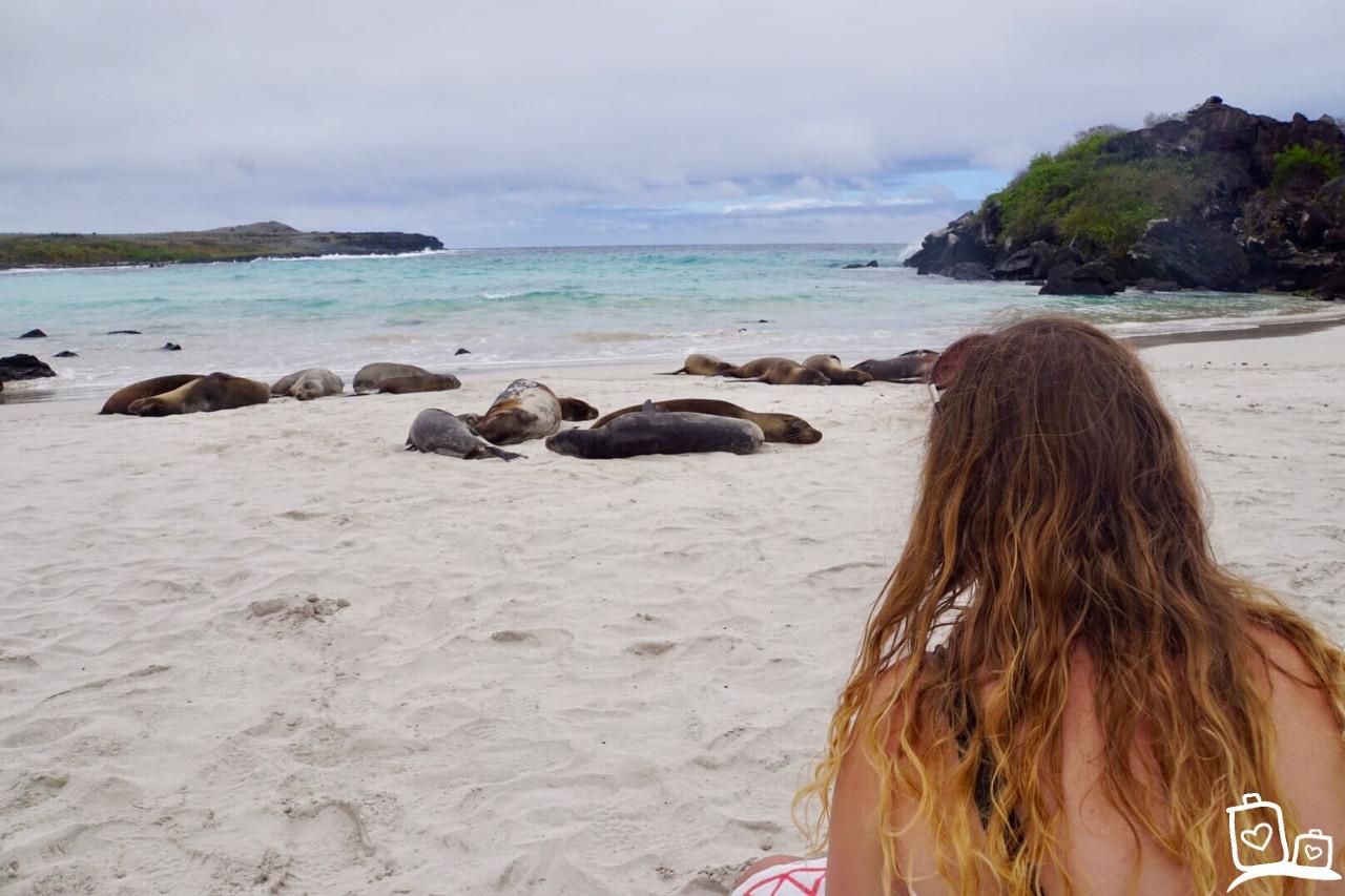 Ecuador Galapagos eilanden Puerto Chino