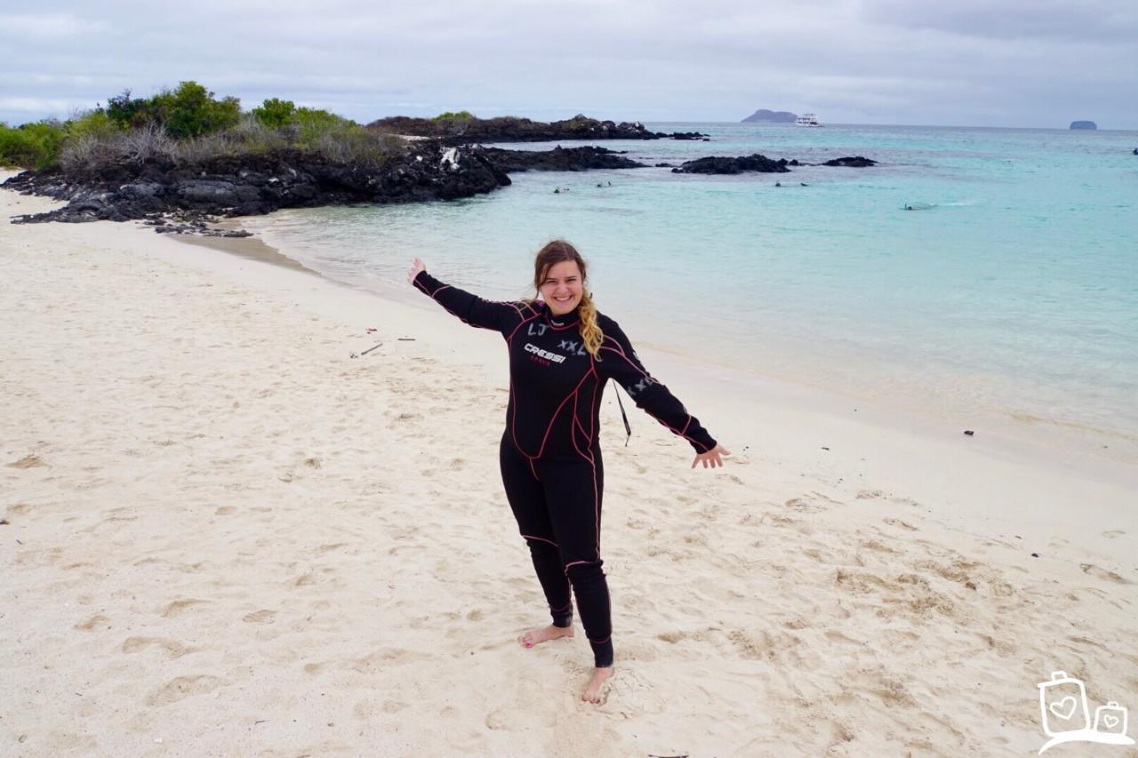 Ecuador Galapagos eilanden Snorkelen