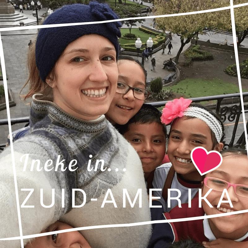 Ineke Eechaute Vrijwilligerswerk Zuid-Amerika