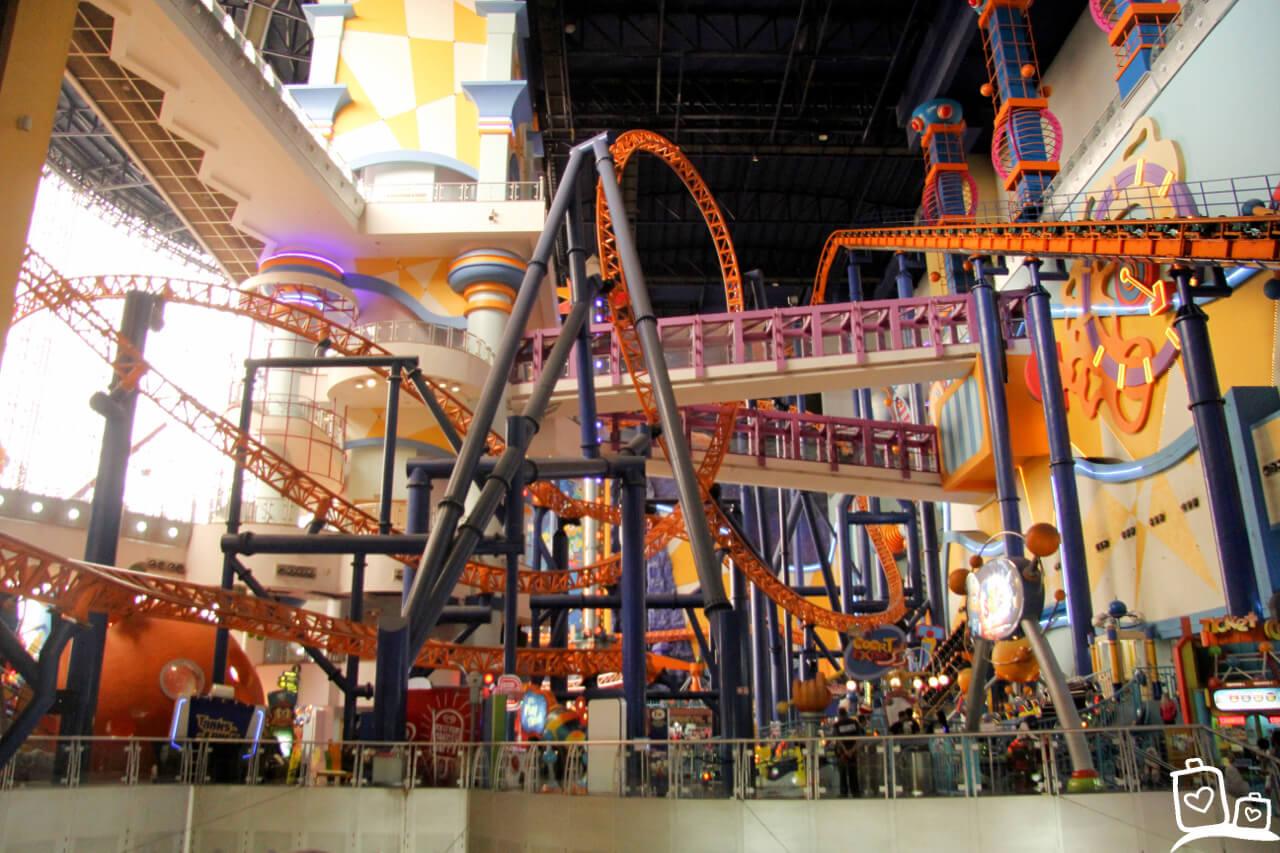 Kuala Lumpur Pretpark Berjaya Times Square Shoppingmall