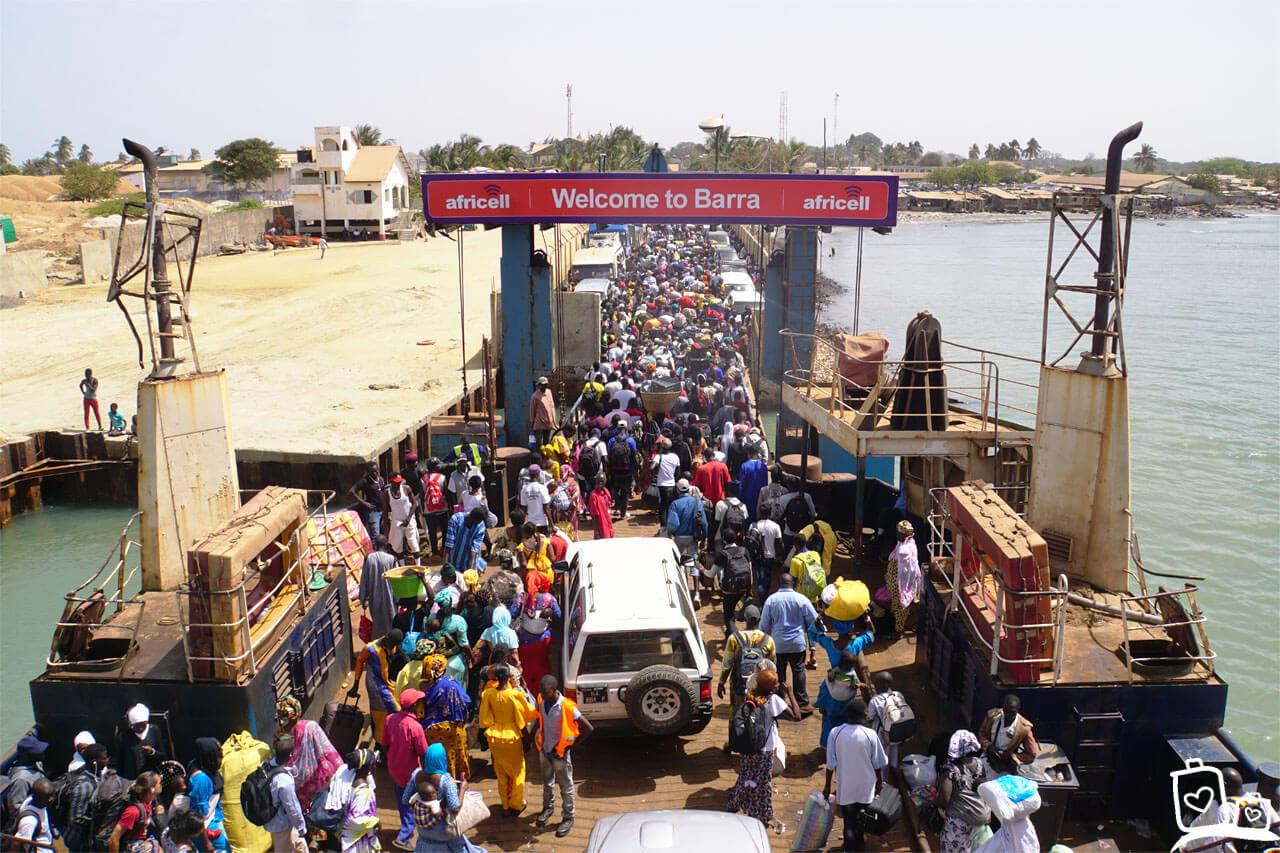 Gambia - Ferry Banjul