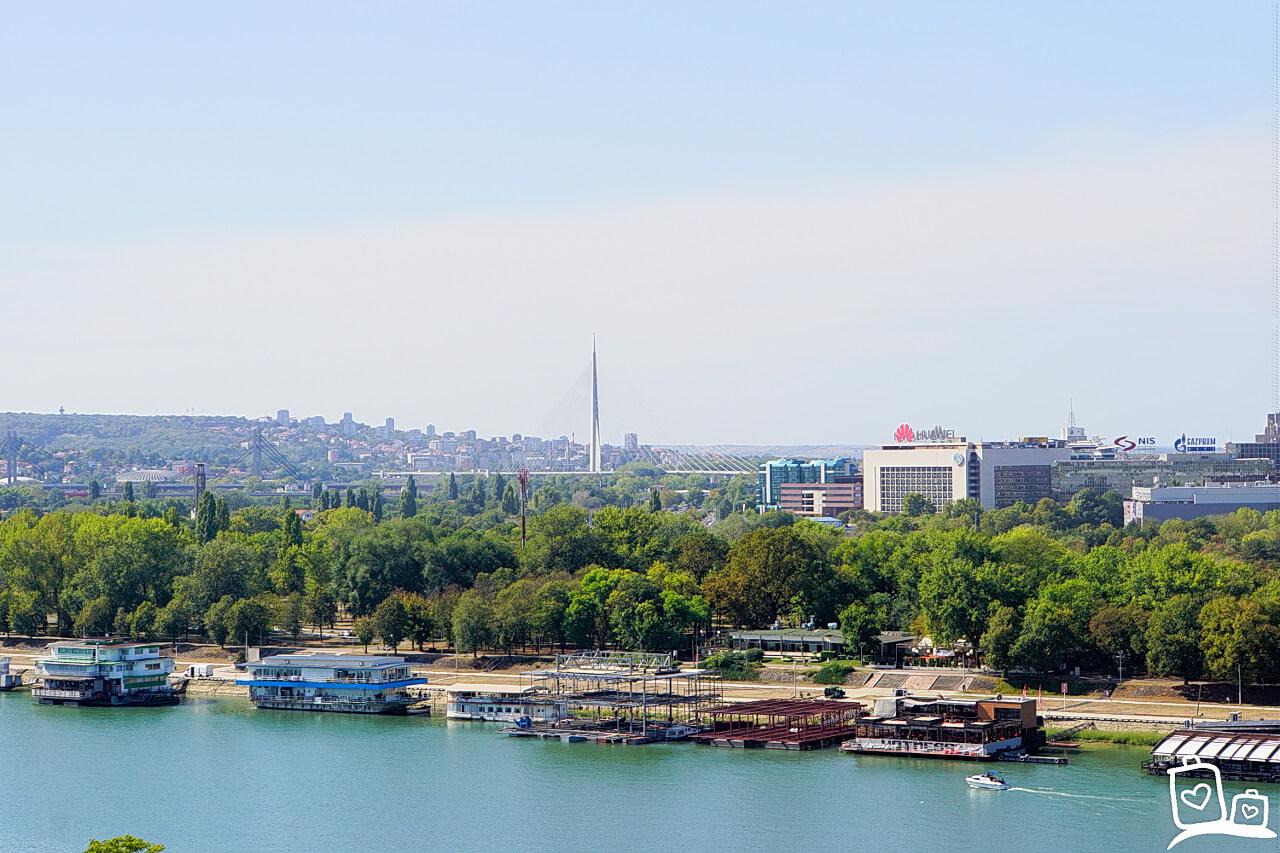 Belgrado- De drijvende clubs (Splavovi)