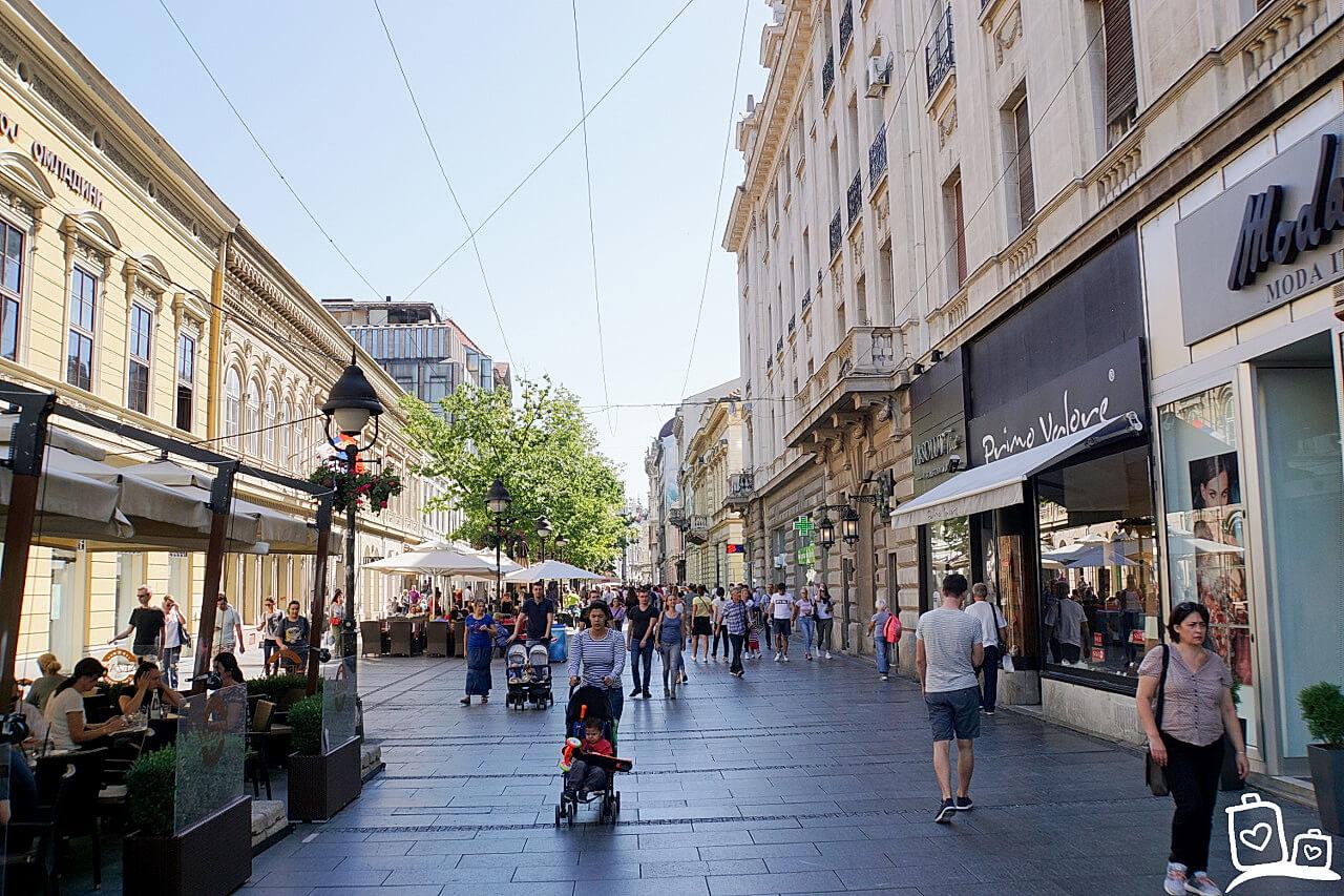 Belgrado - De oude wijk Skadarlija