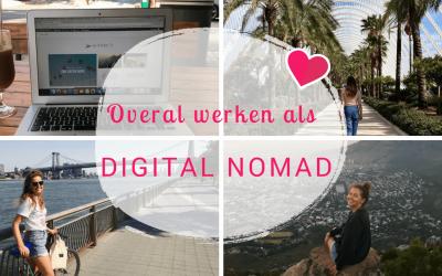 Overal ter wereld werken als digital nomad