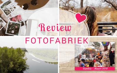 Review: een fotoboek maken bij de Fotofabriek!