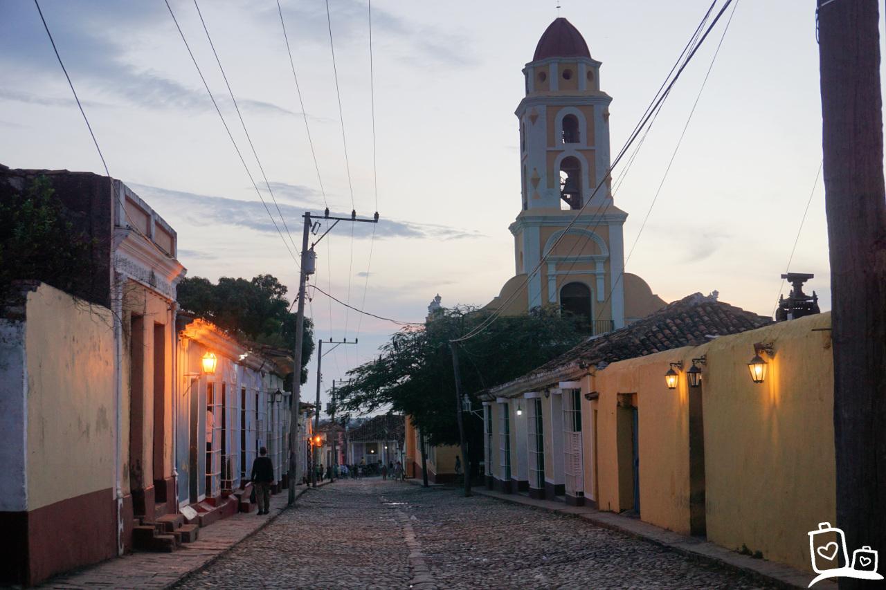 Cuba-Trinidad-Zonsondergang-San-Fransisco