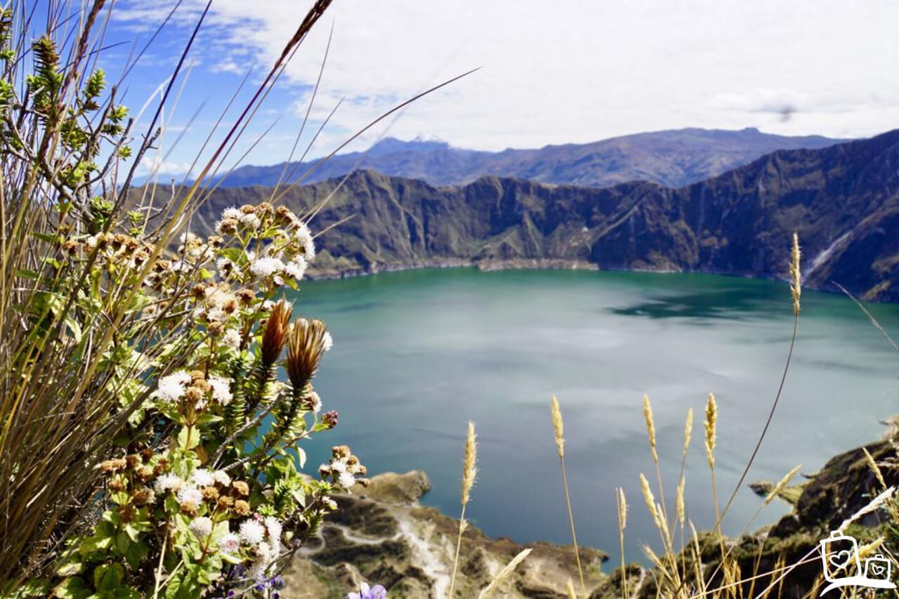 Ecuador Quilotoa meer