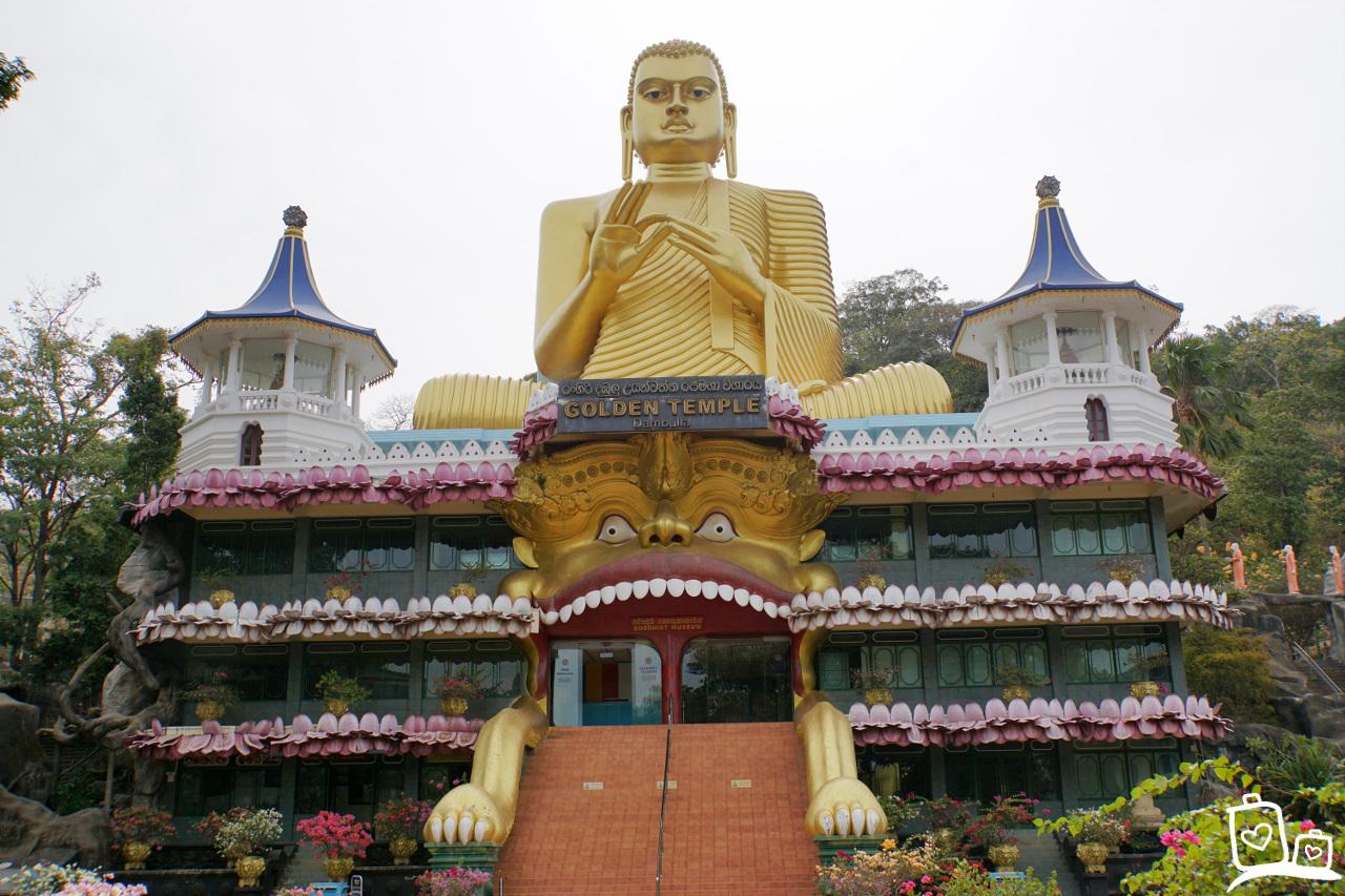 Sri Lanka-Dambulla-Gouden-Tempel
