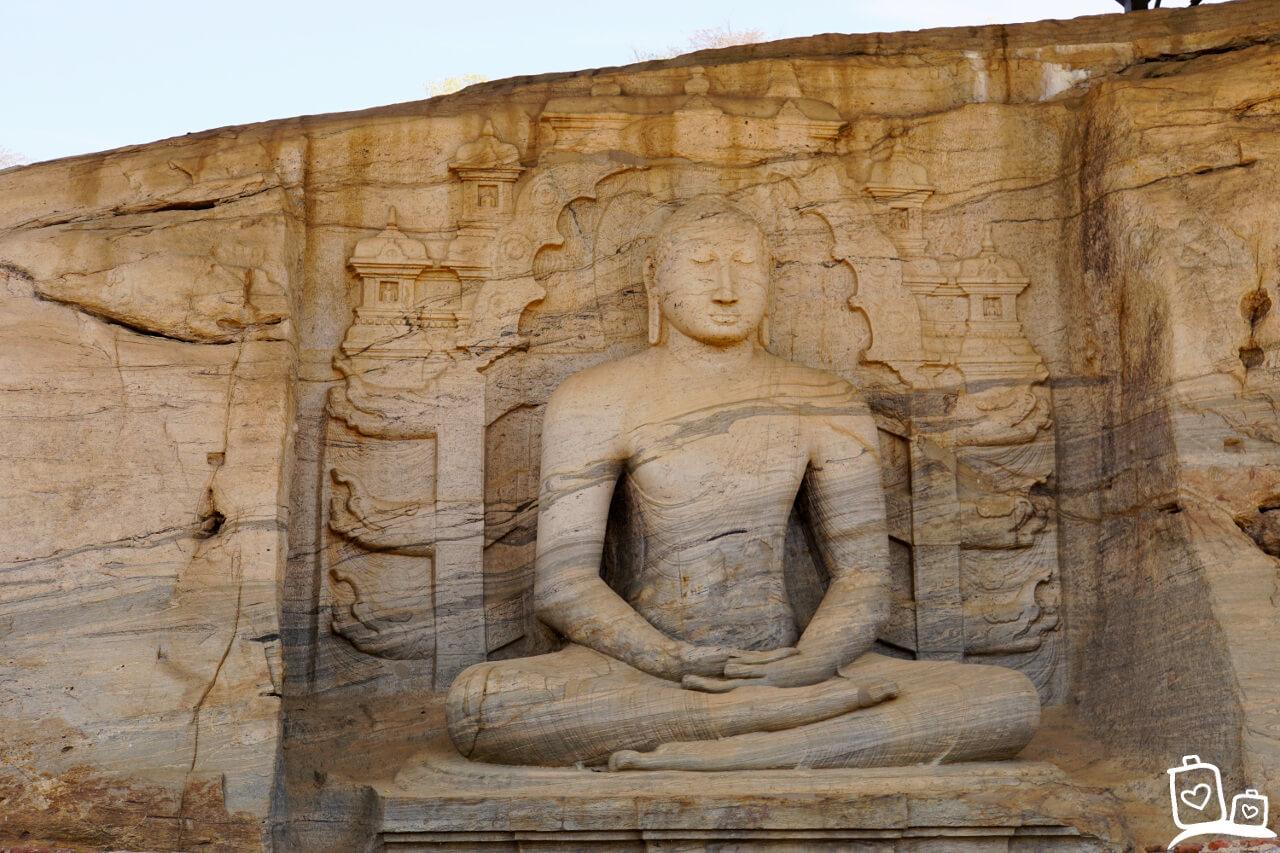 Sri Lanka-Polonnaruwa-Gal Vihara-2