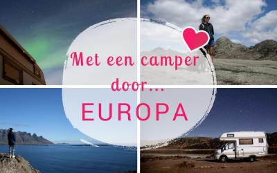 De ultieme vrijheid: met een camper door Europa reizen!