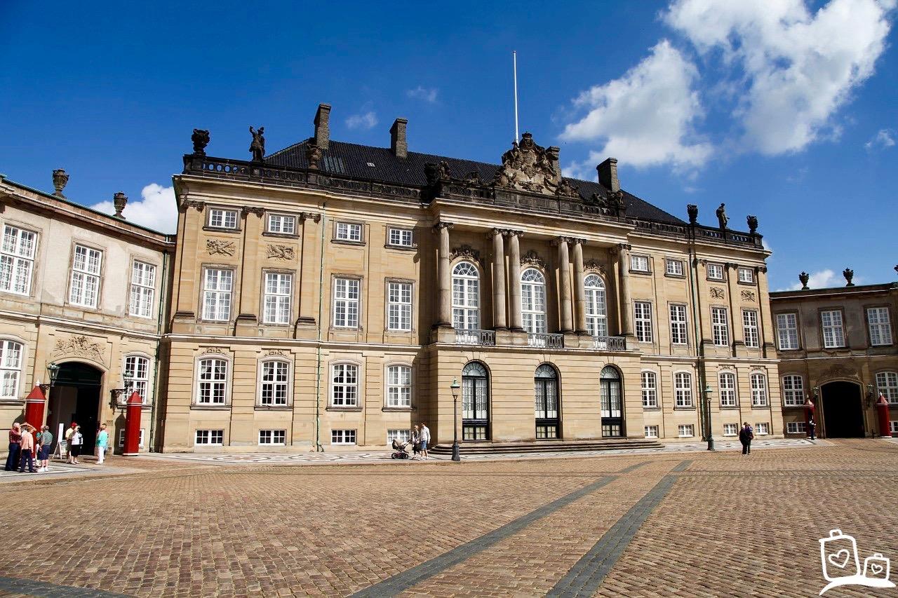 Denemarken-Kopenhagen-Amalienborg-Palace