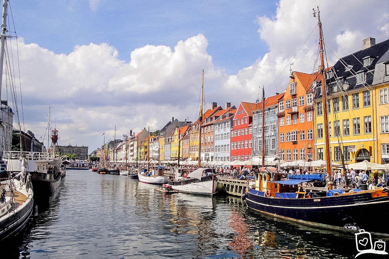 Denemarken-Kopenhagen-Nyhavn