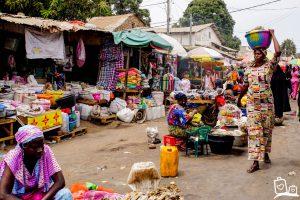 Gambia Markt Serrekunda