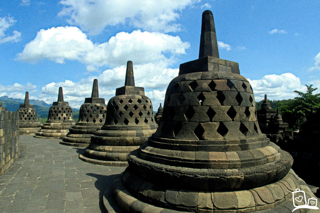 Indonesie-Java-Borobudur