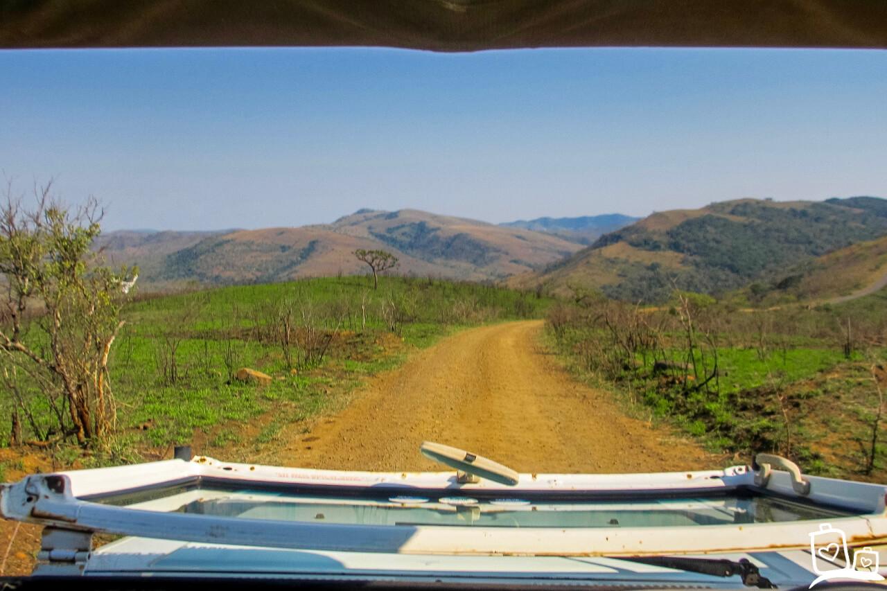 Jeep Zuid Afrika Hluhluwe