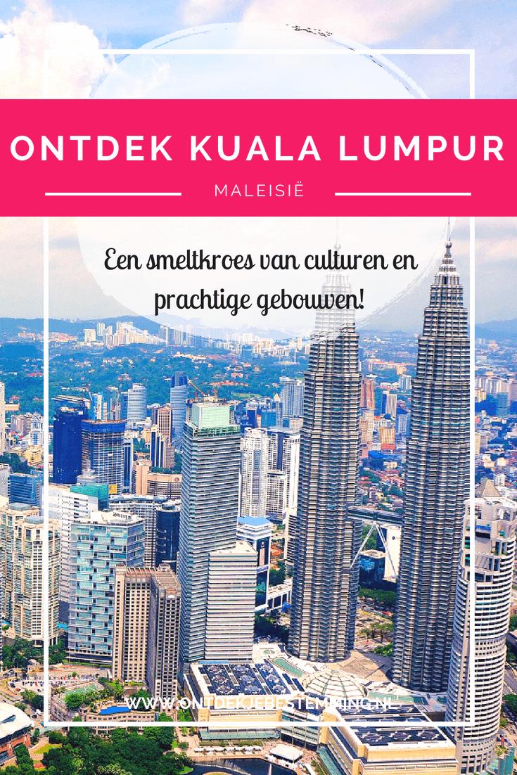 Ontdek je bestemming | Kuala Lumpur: Petronas Twin Towers - Shoppingmalls - Batu Caves - Silver Leaf Monkeys - Vuurvliegjes - Malakka | Lees meer!