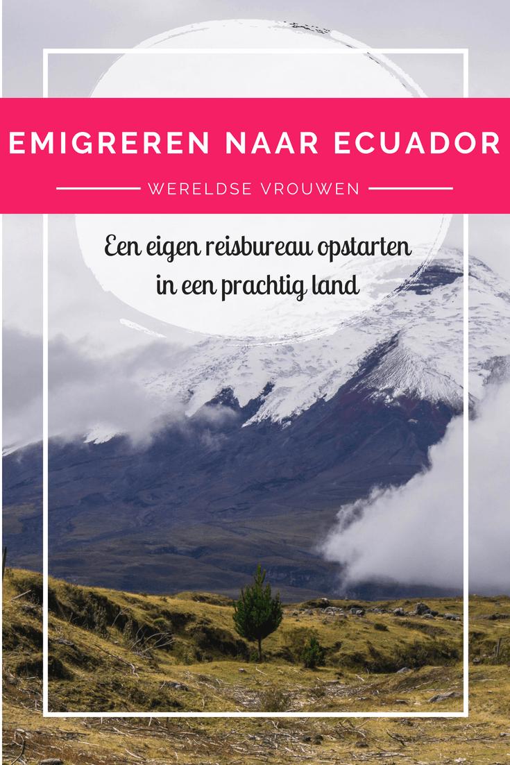 Emigreren naar Ecuador? Rebecca deed het! Inmiddels heeft ze een succesvol eigen reisbureau en organiseert geweldige tours. Lees meer over haar leven daar!