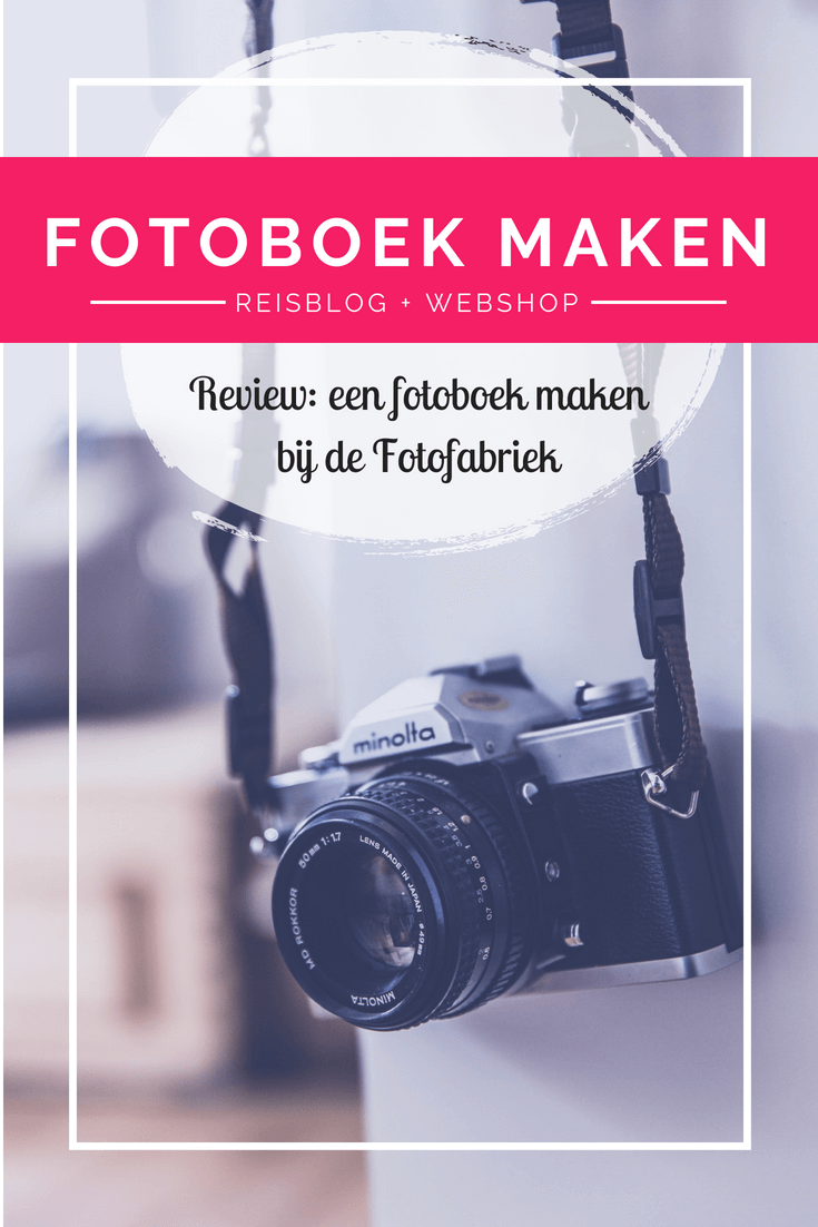 Ik testte het maken van een fotoboek bij de Fotofabriek. Ben je benieuwd wat ik ervan vond? Lees dan deze review met handige tips!