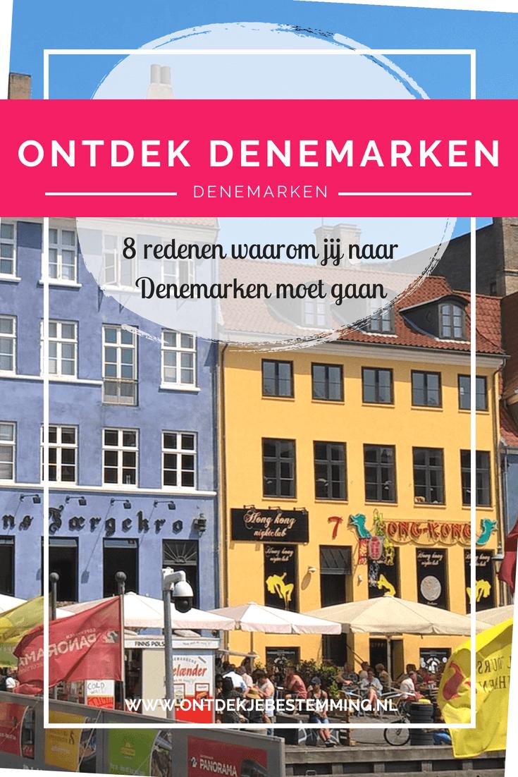 Hier vind je de 8 redenen waarom Denemarken echt op jouw bucketlist moet staan! Tips voor bezienswaardigheden, een fijn hotel, een uitstapje naar Zweden en natuurlijk van alles over de hoofdstad Kopenhagen. Lees meer!