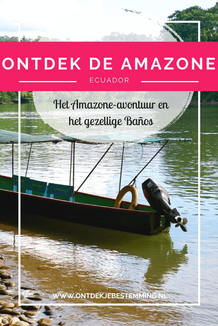 Mijn ervaringen van mijn rondreis door Ecuador. Deel 3: De Amazone. Met o.a. Baños, Tena, het verblijf in de Amazone, AmaZOOnico, de Kichwa-stam en meer. Lees het hier!