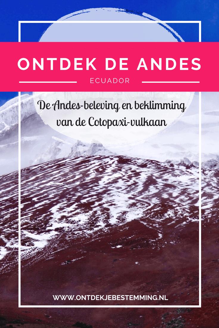 Mijn ervaringen van mijn rondreis door Ecuador. Deel 2: Andes. Met o.a. Cotopaxi vulkaan beklimmen, hike Isinlivi - Chugchilan en Quilotoa meer. Lees meer!