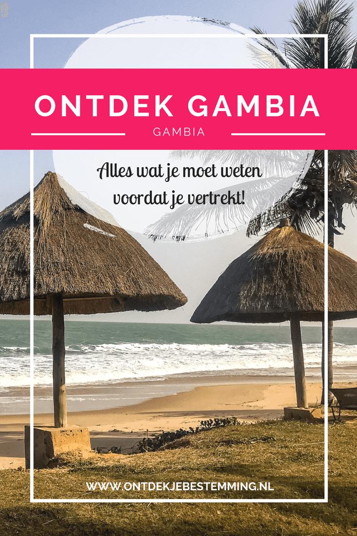 Ontdek… Gambia. Een prachtige bestemming die perfect is voor in de wintermaanden. Maar wat moet je nu echt weten voordat je vertrekt? Dat vertel ik je hier!