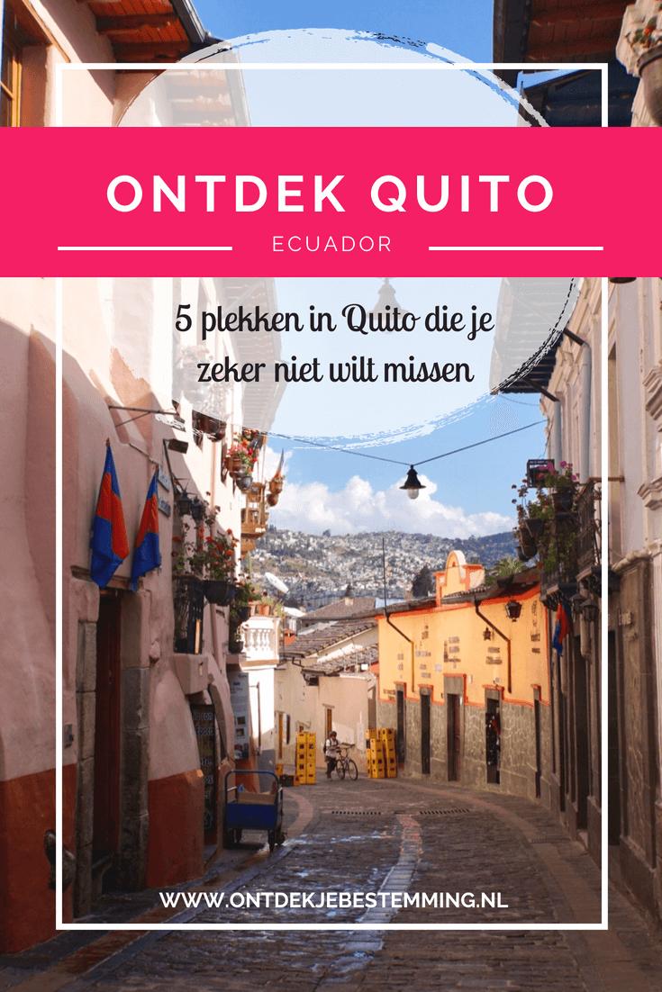 Mooiste bezienswaardigheden Quito - Ecuador: TelefériQo | Mitad del Mundo | The Old City | La Virgen de El Panecillo | La Ronda - Lees meer!