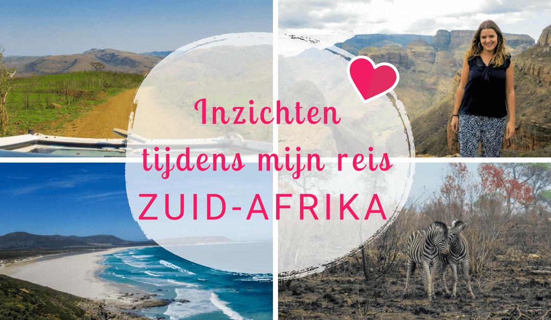 Alles over mijn reis naar Zuid Afrika en wat er daarna allemaal gebeurde…