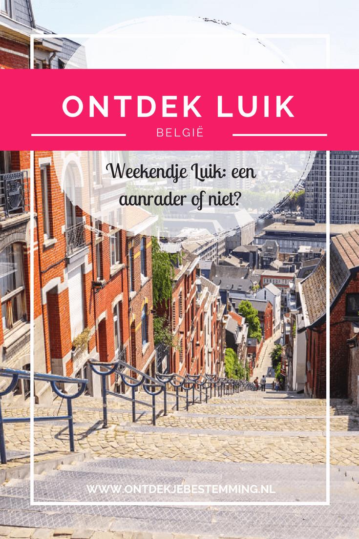 Luik staat bekend als een industriële stad, maar heeft deze stad nog meer te bieden? Ik ging op onderzoek uit! Lees hier mijn ervaringen en de leukste tips!