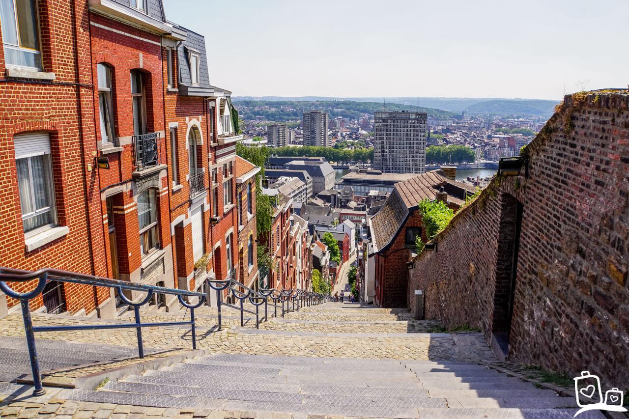 Weekendje Luik - Montagne de Bueren
