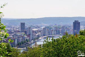 Weekendje Luik - Uitzicht Citadel